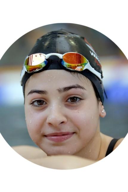 Porträt: Yusra Mardini trainiert heute für Olympia.