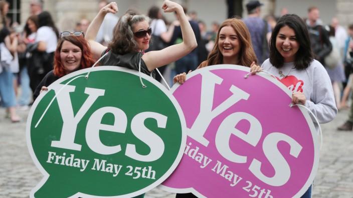 Abtreibungsreferendum in Irland