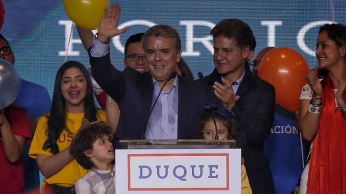 Präsidentenwahl in Kolumbien