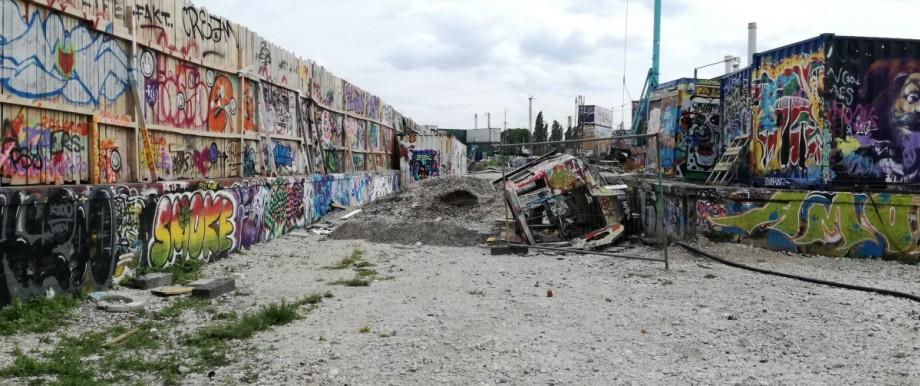 Tumblingerstraße Street Art