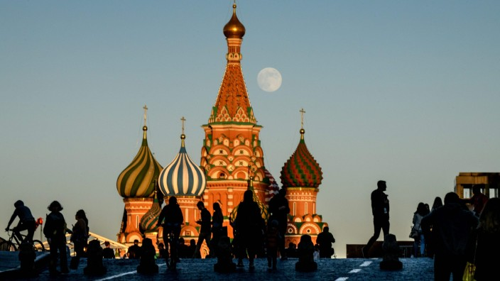Basilius-Kathedrale in Moskau - Russland als Reiseland