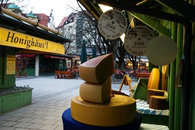 Viktualienmarkt in München, 2018
