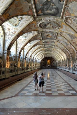 Antiquarium der Residenz in München, 2013