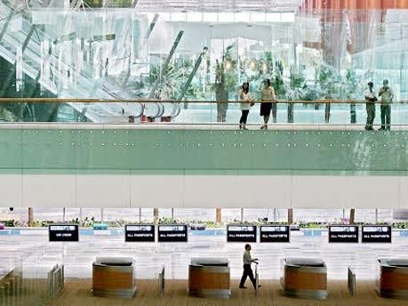 Übernachten auf dem Flughafen: Singapur Changi Airport