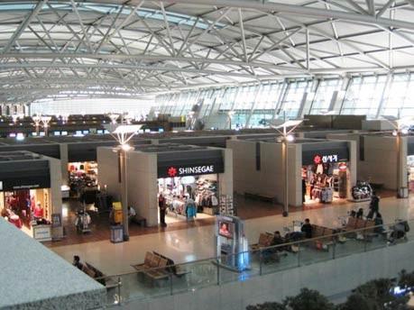 Übernachten auf dem Flughafen: Incheon International Airport, Seoul