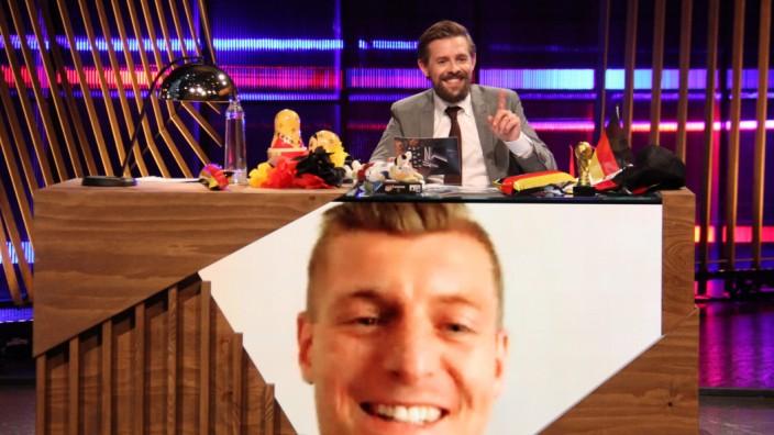 Toni Kroos ist WM-Experte bei 'Late Night Berlin'.