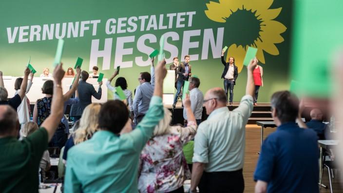 Landesparteitag von Bündnis 90/Die Grünen in Hessen