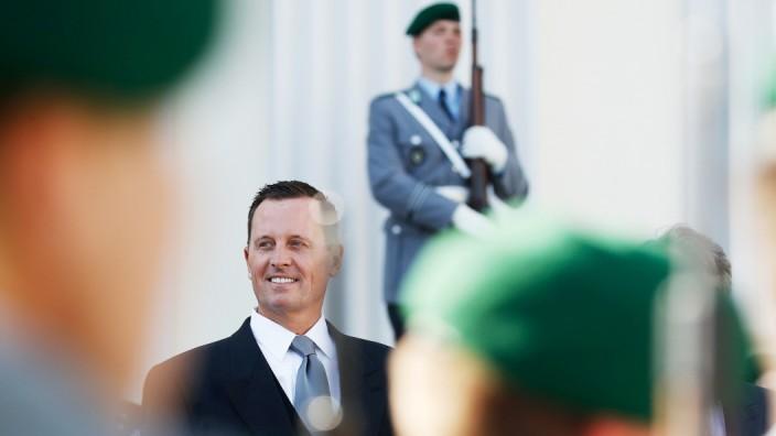 Militär: Richard Grenell ist seit Mai US-Botschafter in Berlin. Die Vereinigten Staaten wollen die amerikanischen Truppen in Deutschland aufstocken.