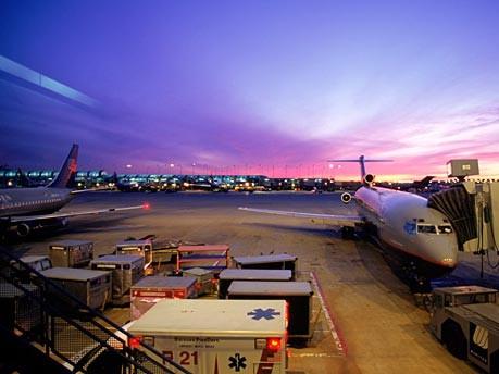 Übernachten auf dem Flughafen: Chicago, Getty Images
