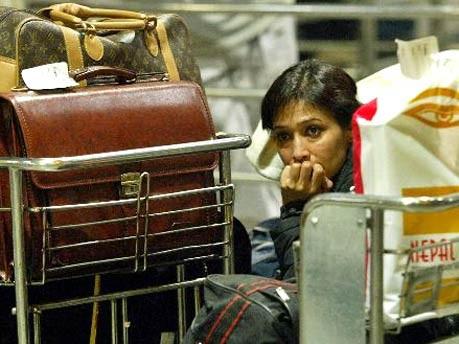 Übernachten auf dem Flughafen: Neu-Delhi, AP