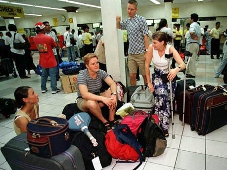 Übernachten auf dem Flughafen: Manila, Reuters