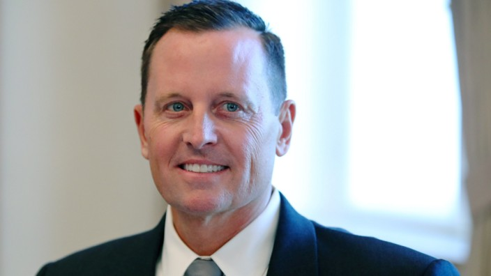 U.S. Ambassador to Germany Grenell is pictured in Berlin