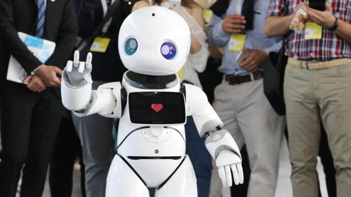 CeBIT computer fair opens in Hanover, Germany - 12 Jun 2018