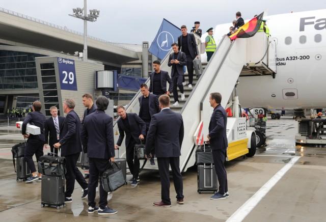 WM 2018 - Ankunft der deutschen Mannschaft