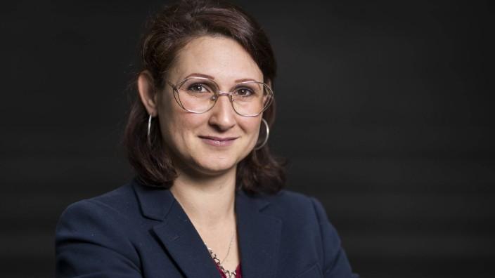 Die Journalistin Ferda Ataman in Berlin.