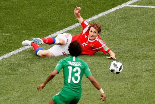 World Cup - Group A - Russia vs Saudi Arabia