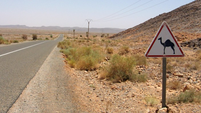 Morocco Desert; reise