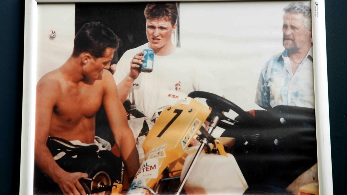 Michael Schumacher Erinnerung Mit Kratzern Panorama Sz De