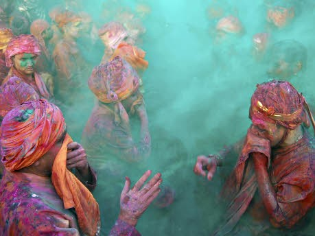 Holifest in Indien 2009, Reuters