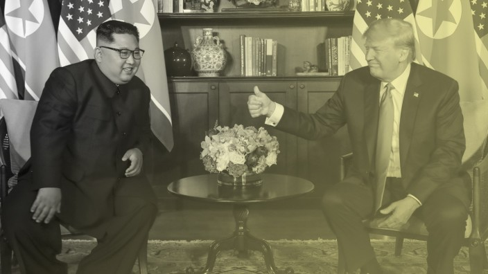 Donald Trump, Kim Jong Un; Kim Trump