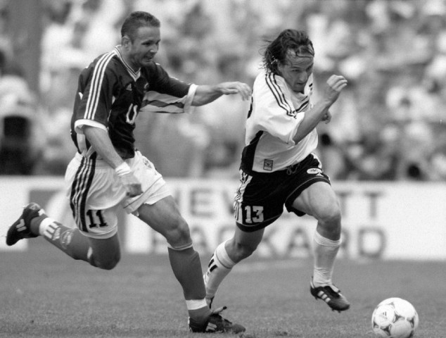 FUßBALL-WM DEUTSCHLAND - JUGOSLAWIEN MIHAJLOVIC JEREMIES