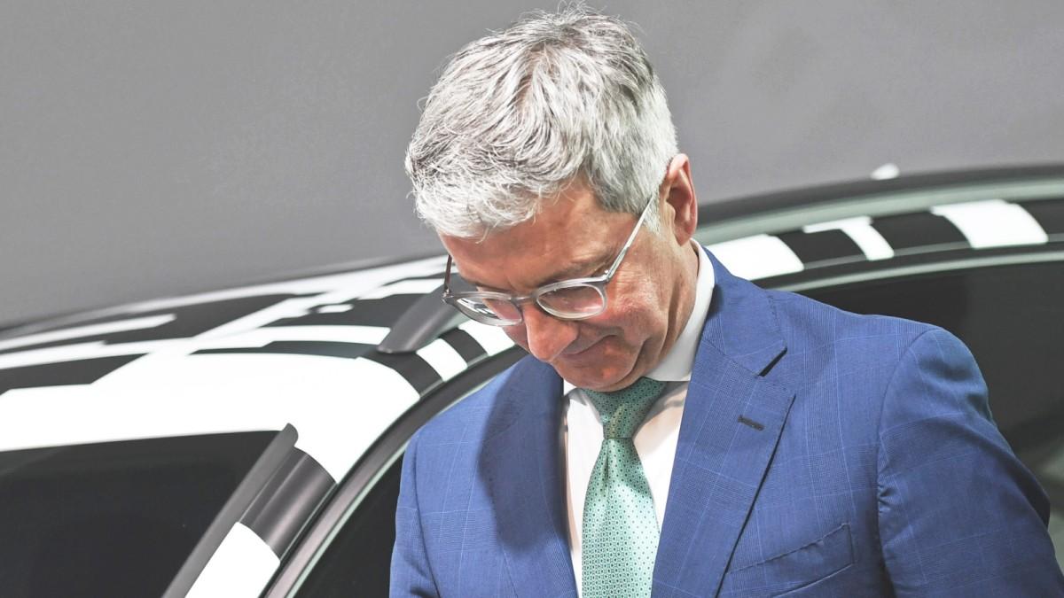 Audi-Chef Rupert Stadler: Der Mann, der stehen blieb