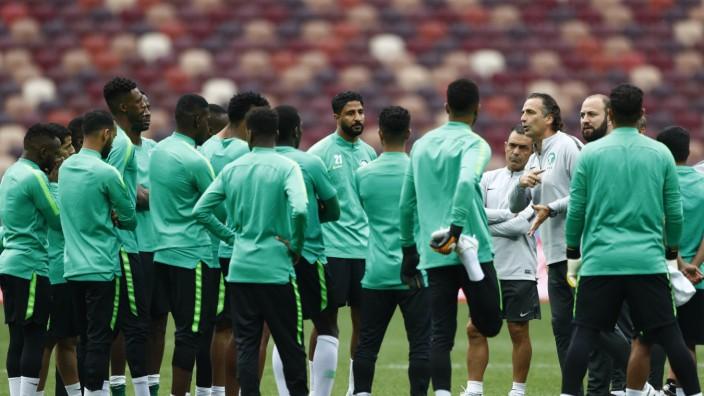 WM 2018 - Training Saudi Arabien