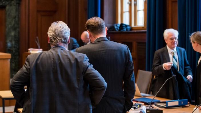 Prozess gegen sechs LKA-Beamte in Nürnberg