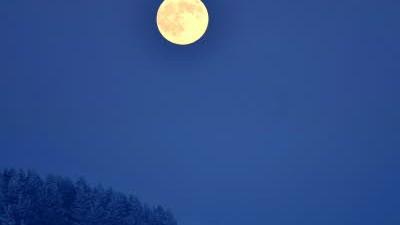 Mond helle dunkel gedicht wars der schien Nr. 1