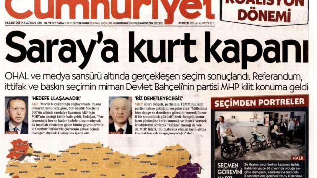 Bildschirmfoto Cumhuriyet