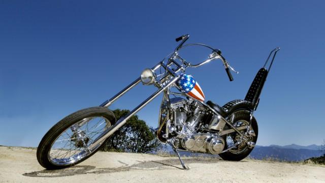 Peter Fonda's Easy Rider Motorcycle on sale