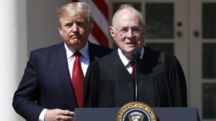 USA: Richter Kennedy verlässt Supreme Court