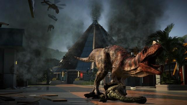 Screenshot Jurassic World Evolution