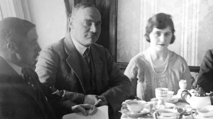 "Gäste an Bord der ""Graf Zeppelin"", 1928"