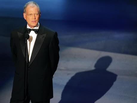 David Letterman; Reuters