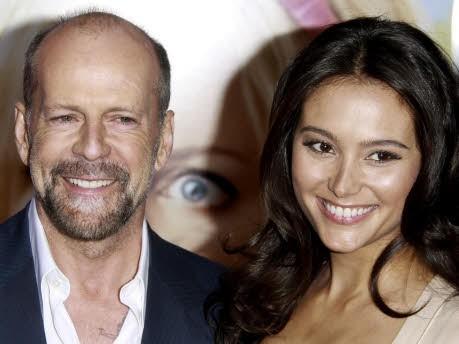Bruce Willis und Emma Heming; dpa