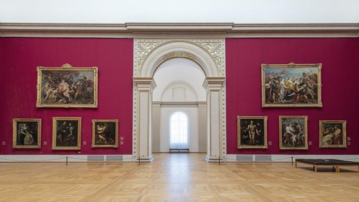 Der Rubenssaal mit Tageslicht  © Bayerische Staatsgemäldesammlungen, Foto: Johannes Haslinger