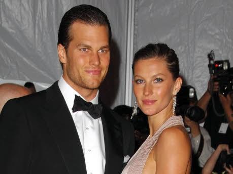 Gisele Bündchen und Tom Brady; dpa