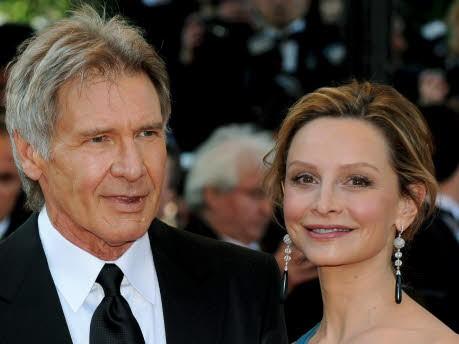 Harrison Ford und Calista Flockhart; dpa