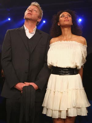 Boris Becker und Lilly Kerssenberg; Getty Images