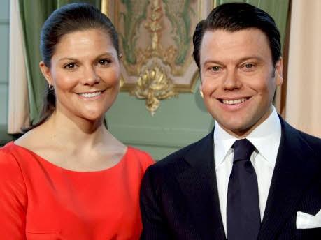 Kronprinzessin Victoria und Daniel Westling; dpa