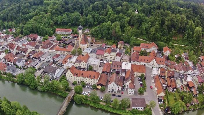 Luftbild Wolfratshausen