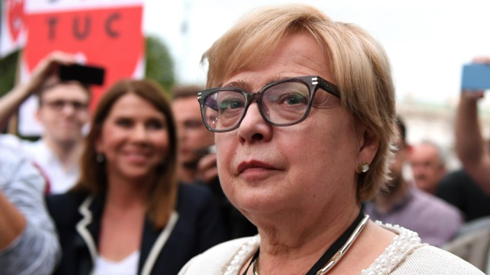 Małgorzata Gersdorf  Polen PiS