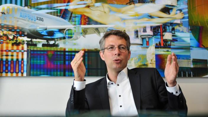 """Asylpolitik: """"Deutschland darf nicht der Dumme sein, wenn sich die anderen der Kooperation verweigern"""", sagt Markus Blume. Der 43-jährige Landtagsabgeordnete ist seit März Generalsekretär der CSU."""