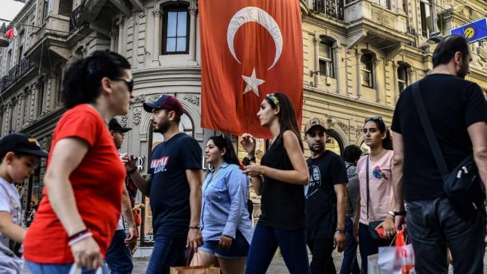 Türkei: Straße in Istanbul
