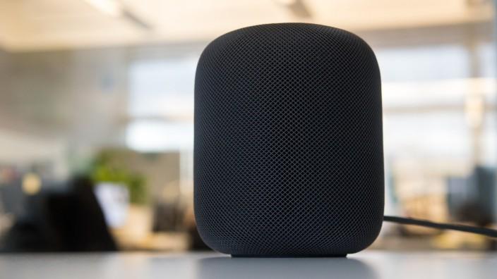 Apple Homepod: Starker Sound, Siri schwächelt auf Deutsch