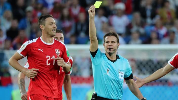 World Cup - Group E - Serbia vs Switzerland