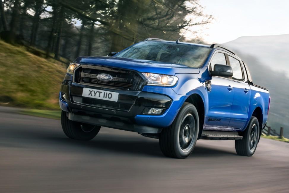 Ford Ranger Front Seite Fahrbild