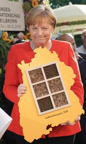 55. Stallwächterparty mit Merkel
