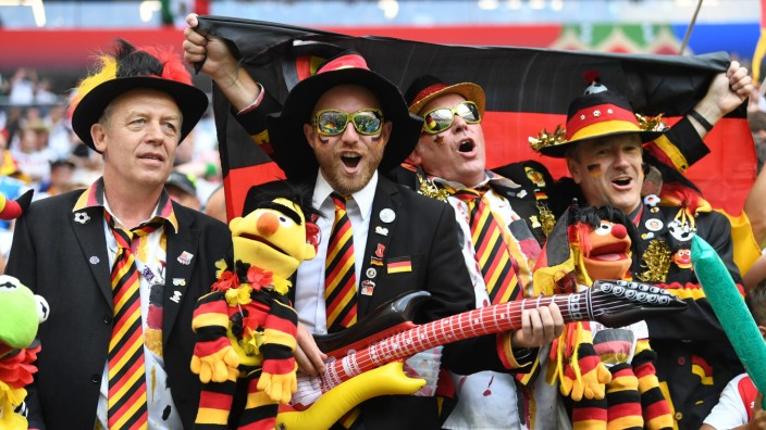 WM 2018 - deutsche Fans